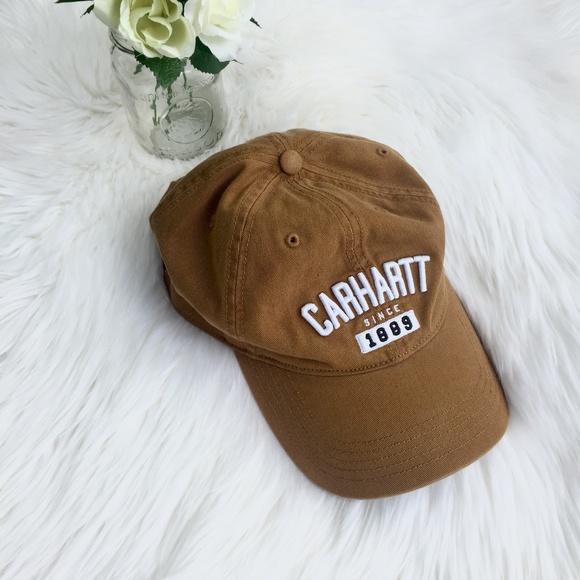 ab440deac5e Carhartt Accessories - Carhartt Brown Ball Cap - Like New